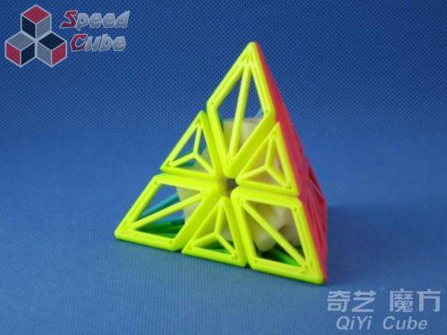 QiYi DNA Cube - Pyraminx Stickerless
