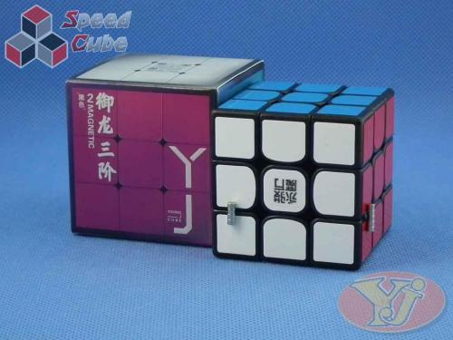 YongJun YuLong v2 3x3x3 Magnetyczna Czarna