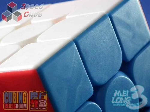 MoFang JiaoShi 3x3x3 MeiLong 3C Kolorowa