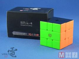 X-Man Volt Square-1 V2 Fully Magnetic Stickerless Black
