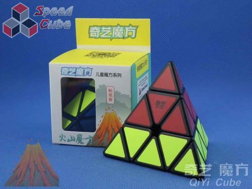 QiYi Volcano Pyraminx Black