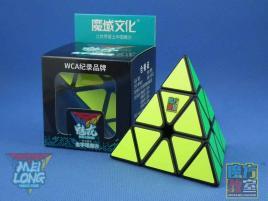 MoYu MoFang JiaoShi Meilong Pyraminx Czarna
