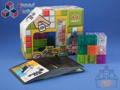 YongJun Building Blocks Magnetic Transparent