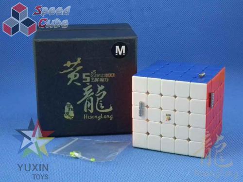 YuXin HuangLong 5x5x5 Magnetic Kolorowa