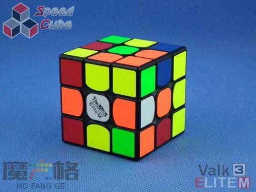 MofangGe Valk3 Elite 3x3x3 Magnetic Black