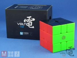 X-Man Volt Square-1 V2 Magnetic Slice Sticerless Black