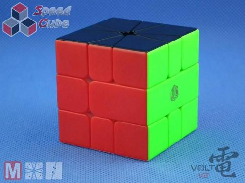 X-Man Volt Square-1 V2 Magnetic Slice Sticerless Black