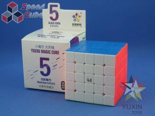 YuXin Black Kylin 5x5x5 Kolorowa