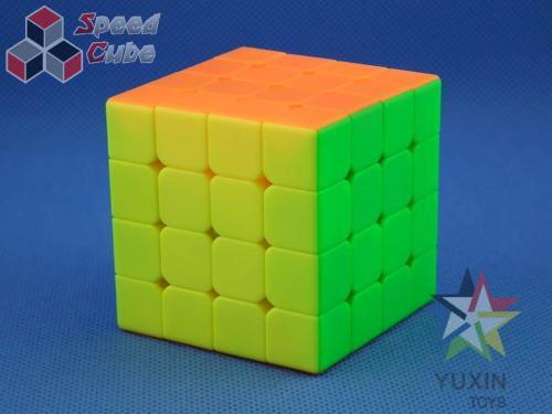 YuXin Black Kylin 4x4x4 V2 Kolorowa