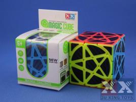 Ju Xing Pentacle 3x3x3 Kolorowa Carbon Stick.