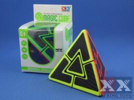 Ju Xing Dual Pyraminx Stickerless Carbon Stick.