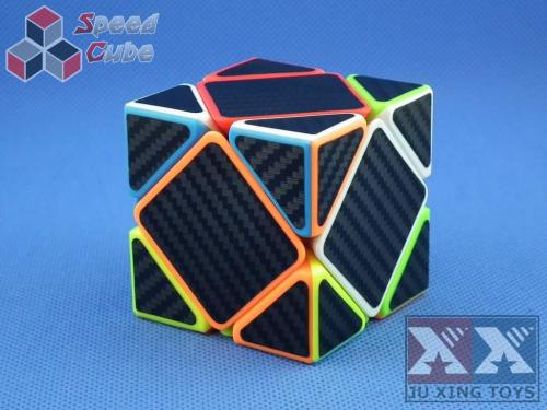 Ju Xing Skewb Stickerless Carbon Stick.