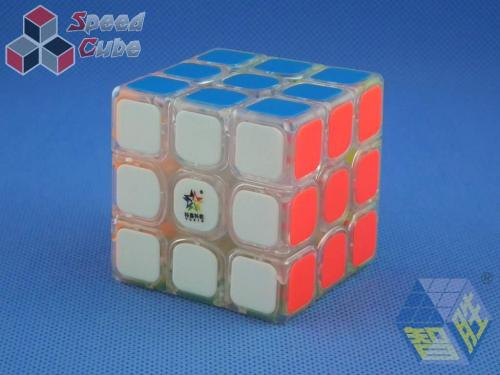 YuXin Black Kirin V2 3x3x3 Transparentna