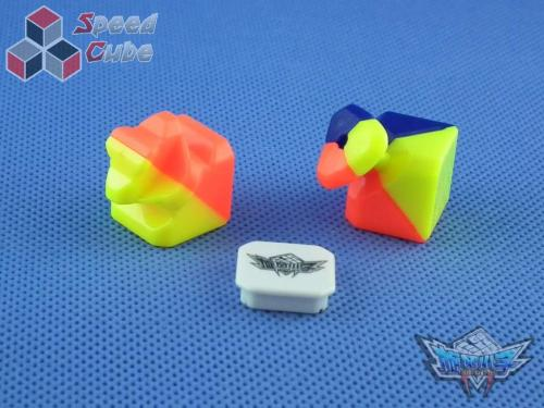 Cyclone BoYs 3x3x3 FeiWu Dark Stickerless