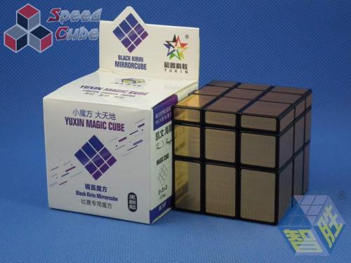 YuXin Black Kirin Mirror Cube Golden