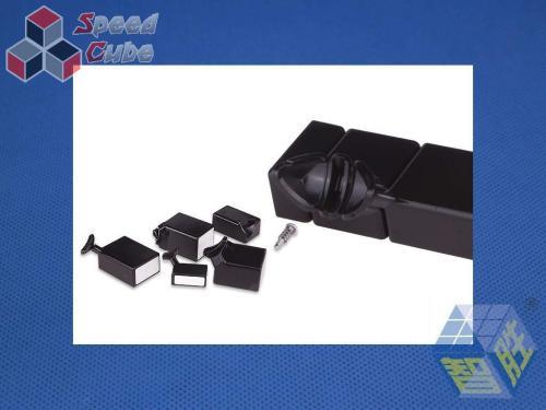 YuXin Black Kirin Mirror Cube Blue