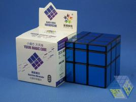 YuXin Black Kirin Mirror Cube Blue
