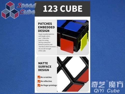 QiYi 123 Cube Black