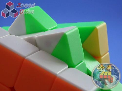 ShengShou 4x4x4 Mr. M Magnetic Kolorowa