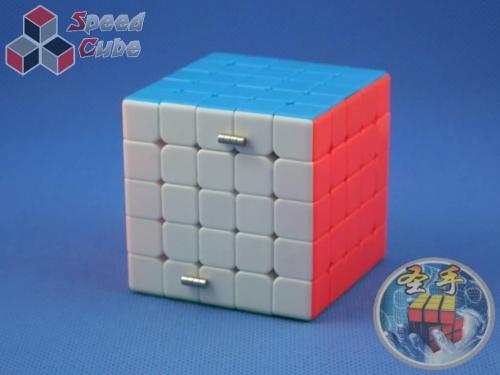 ShengShou 5x5x5 Mr. M Magnetic Kolorowa