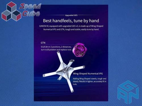 Gans GAN354 V2 Magnetic 3x3x3 Stickerless