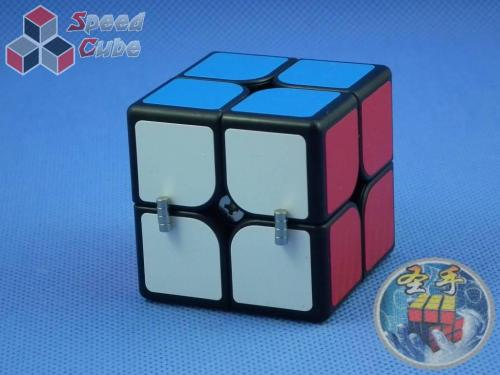 ShengShou 2x2x2 Mr. M Magnetic Czarna