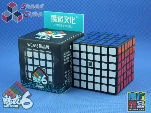 MoYu MoFang JiaoShi 6x6x6 MeiLong Czarna
