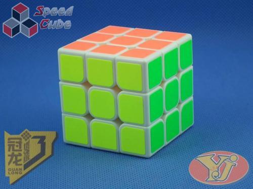 YongJun GuanLong V3 3x3x3 Biała