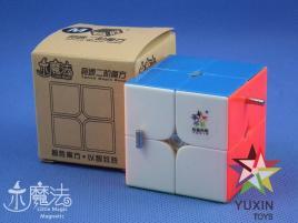 YuXin Little Magic 2x2x2 Magnetic Kolorowa