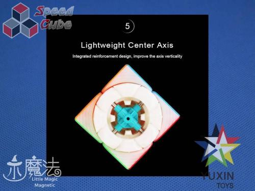 ZhiSheng YuXin Little Magic 2x2x2 Magnetic Kolorowa