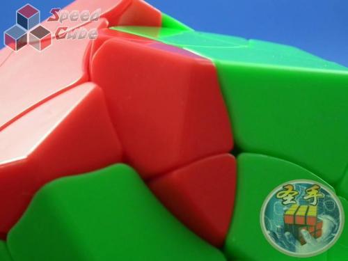 ShengShou Phoenix Megaminx Kolorowa Green