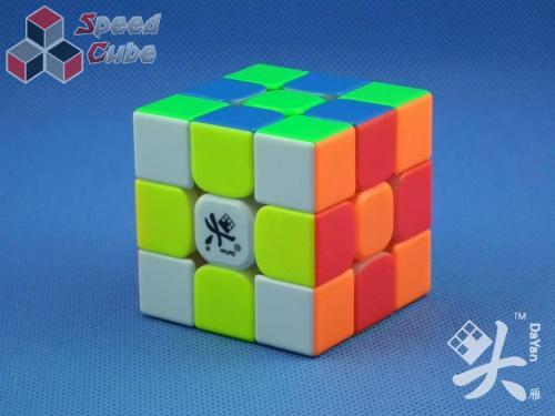 DaYan TengYun V2 3x3x3 M Magnetic Kolorowa