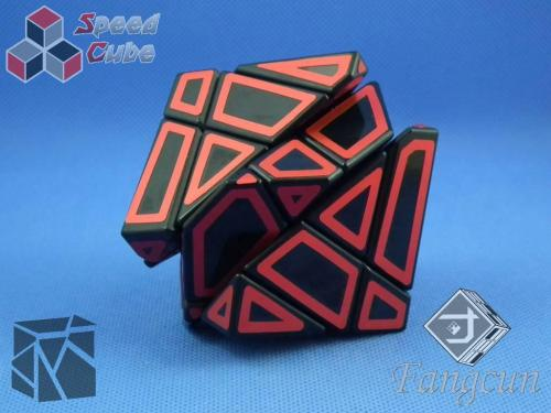 FangCun Ghost Cube Black Body Red Hollow Stick.