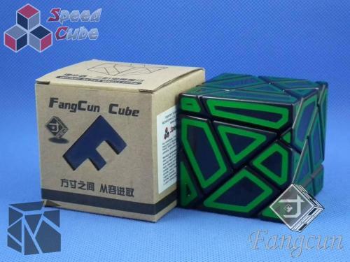 FangCun Ghost Cube Black Body Green Hollow Stick.