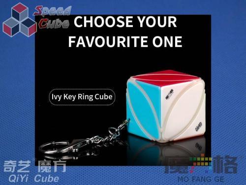 QiYi Ivy Cube Brelok Stickerless