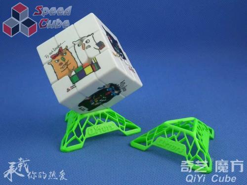 QiYi Podstawka DNA Cube Stand Green