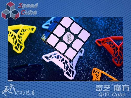 QiYi Podstawka DNA Cube Stand Yellow