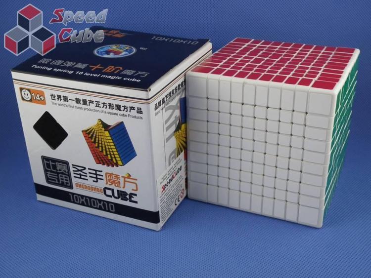 ShengShou 10x10x10 Biała