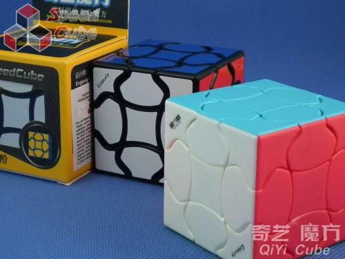 QiYi Fluffy Cube 3x3x3 Black