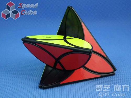 QiYi Clover Pyraminx Black