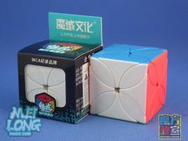 MoFang JiaoShi MeiLong Four Leaf Clover Cube