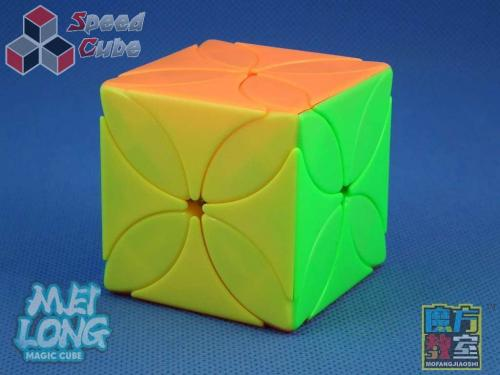 MoFang JiaoShi MeiLong Four Leaf Clover Cube Stickerless