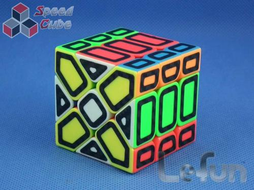 Lefun Magic Cube Gift Pack Stickerless Hollow Carbon
