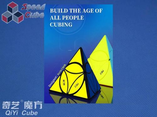 QiYi Coin Tetrahedron Black