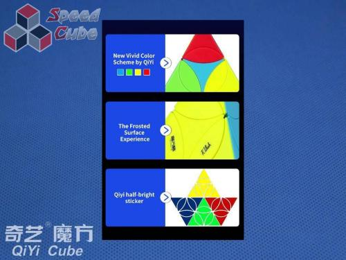 QiYi Coin Tetrahedron Stickerless