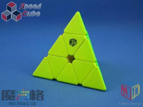 MoFangGe X-man Pyraminx Magnet Bell V2 Black