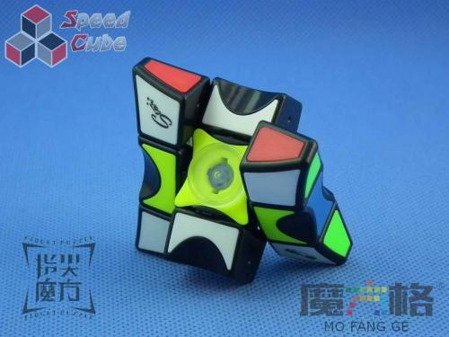 MoFangGe Fidget Spinner 1x3x3 Black Tiled