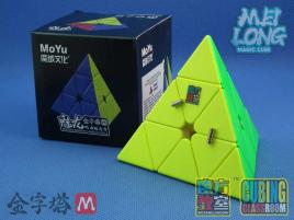 MFJS MoYu MeiLong Pyraminx Magnetic Stickerless