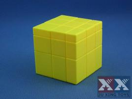 Ju Xing Mirror 3x3 Cube Yellow