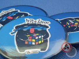 Button przypinka WR-a Kręcę - 58 mm